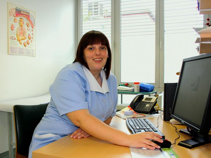 Kako Anita prihrani čas pri delu v referenčni ambulanti ZD Nova Gorica